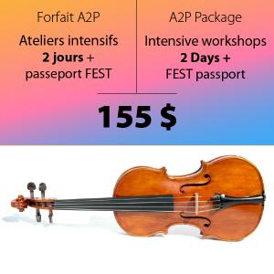 Ateliers 2 jours et passeport Fest - A2P